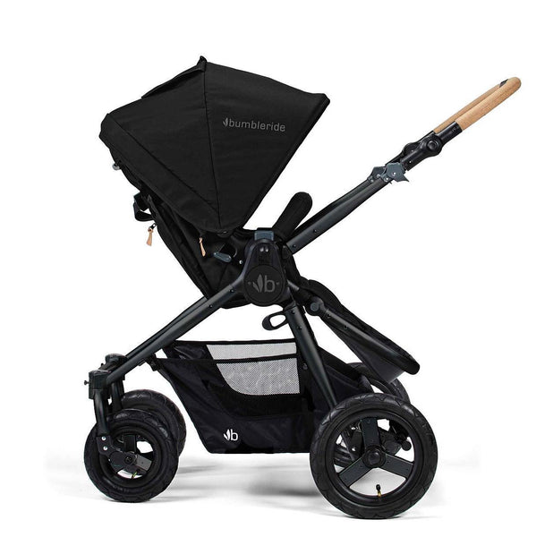 Bumbleride Era 4 Wheel Pram - Matt Black