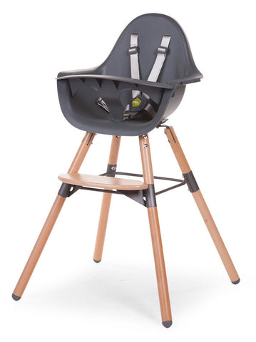 Childhome Evolu 2 High Chair - Grey