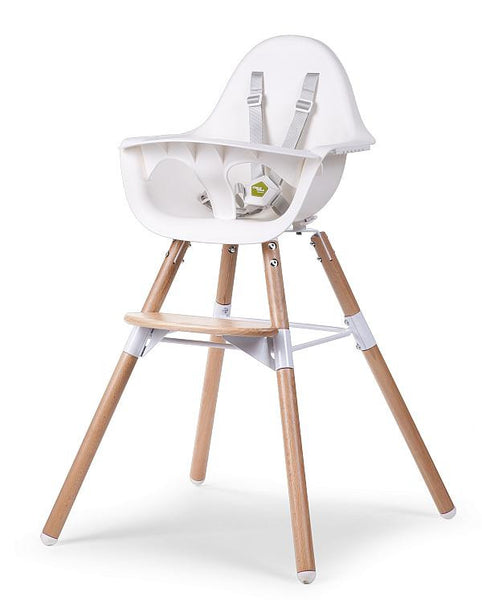 Childhome Evolu 2 High Chair - White