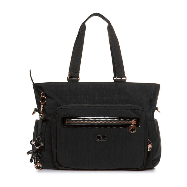 Il Tutto Layla Tote Nappy Bag - Black