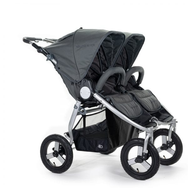 Bumbleride Indie Twin Pram - Dawn Grey