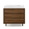 Ubabub Nifty Dresser Change Table - Walnut