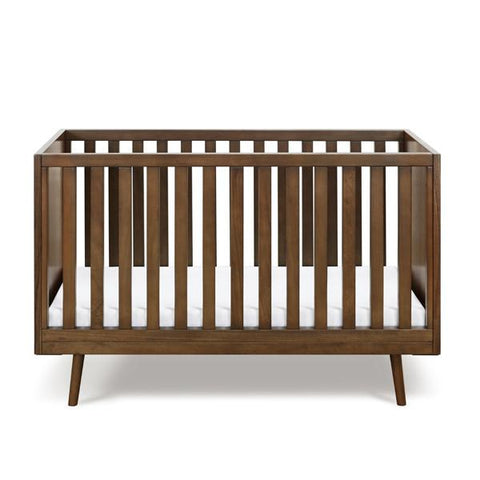 Ubabub Nifty Timber Cot - Walnut