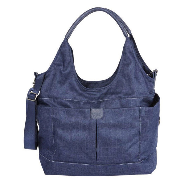 OiOi Tote Slouch Nappy Bag - Denim Blue