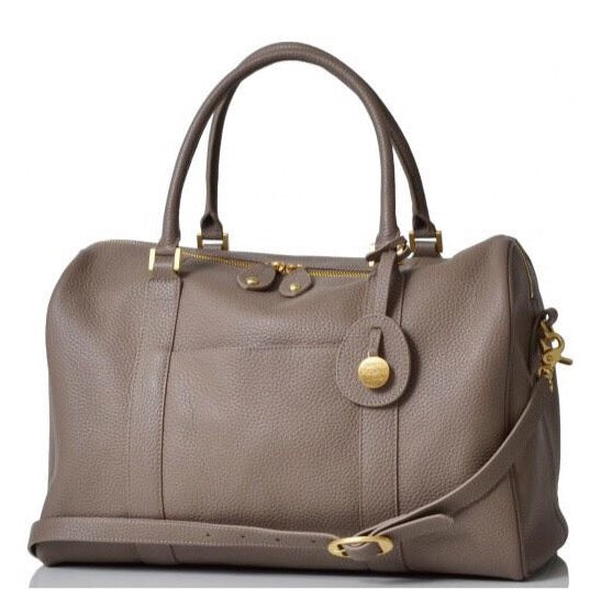 PacaPod Leather Nappy Bag Firenze - Latte