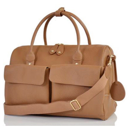PacaPod Leather Nappy Bag Loreta - Oak