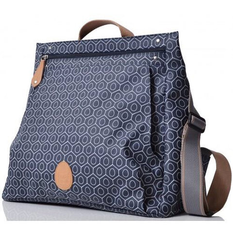 PacaPod Lewis Nappy Bag - Navy Tile
