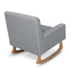 Nursery Works Sleepytime Rocker - Ash with Light Legs