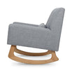 Nursery Works Sleepytime Rocker and Stool - Ash with Light Legs