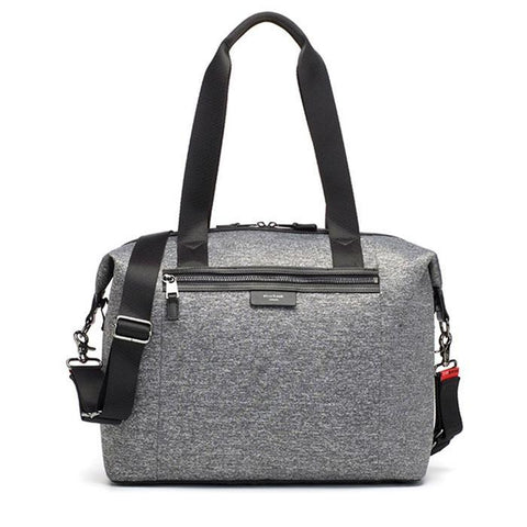 Storksak Stevie Luxe Nappy Bag - Grey Marle Scuba