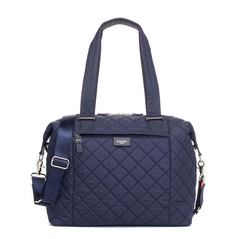 Storksak Stevie Quilt Nappy Bag - Navy