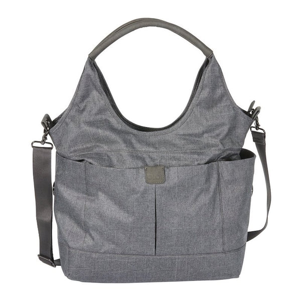 OiOi Tote Slouch Nappy Bag - Denim Grey