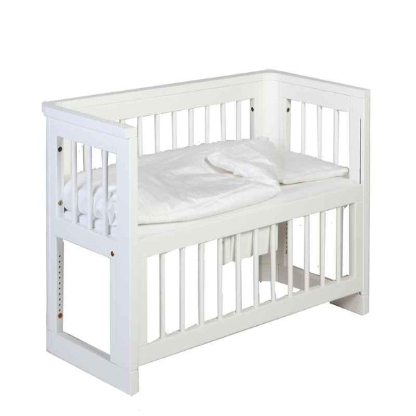 Troll Sun Co-Sleeping Bedside Bassinet - White FREE SHIPPING