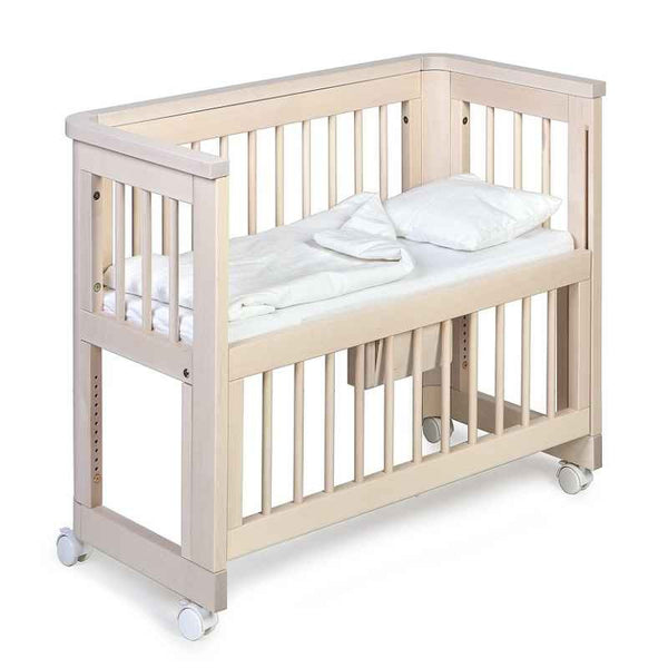 Troll Sun Co-Sleeping Bedside Bassinet - Whitewash