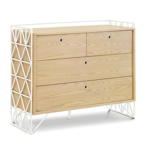 Ubabub Mod Dresser Change Table - White and Natural