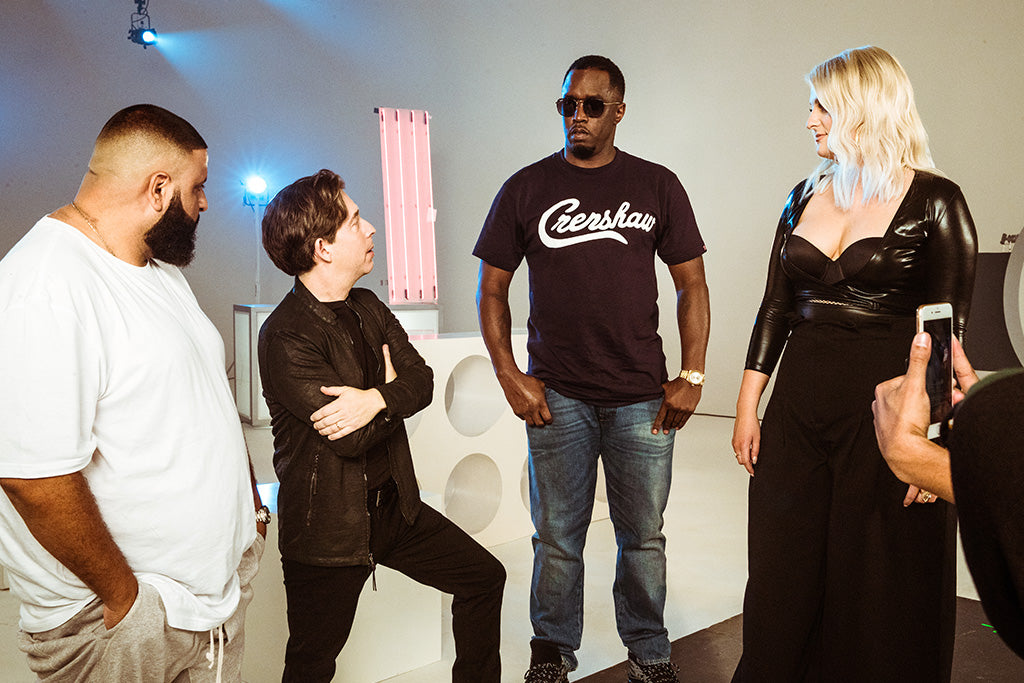 Diddy, DJ Khaled, Meghan Trainor, Charlie Walk to Judge Fox's 'The Four'
