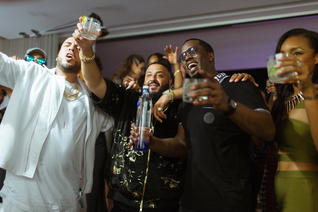 Behind The Scenes With Puff Daddy, French Montana and DJ Khaled