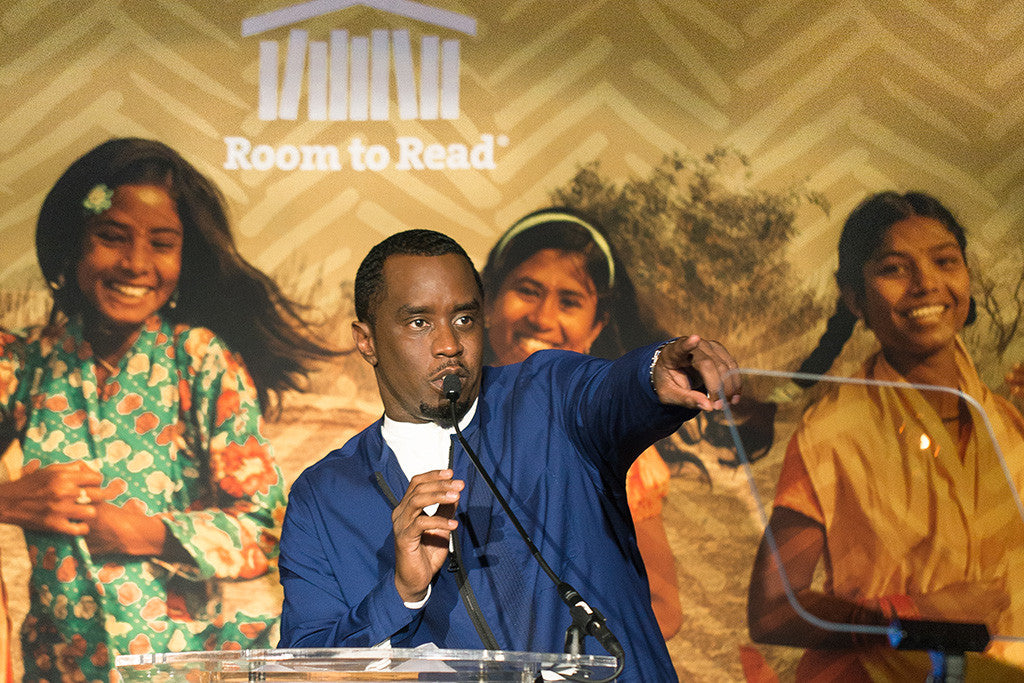 "Sean ""Diddy"" Combs Honored by Room to Read for Impact on Global Education at 2017 New York Gala"