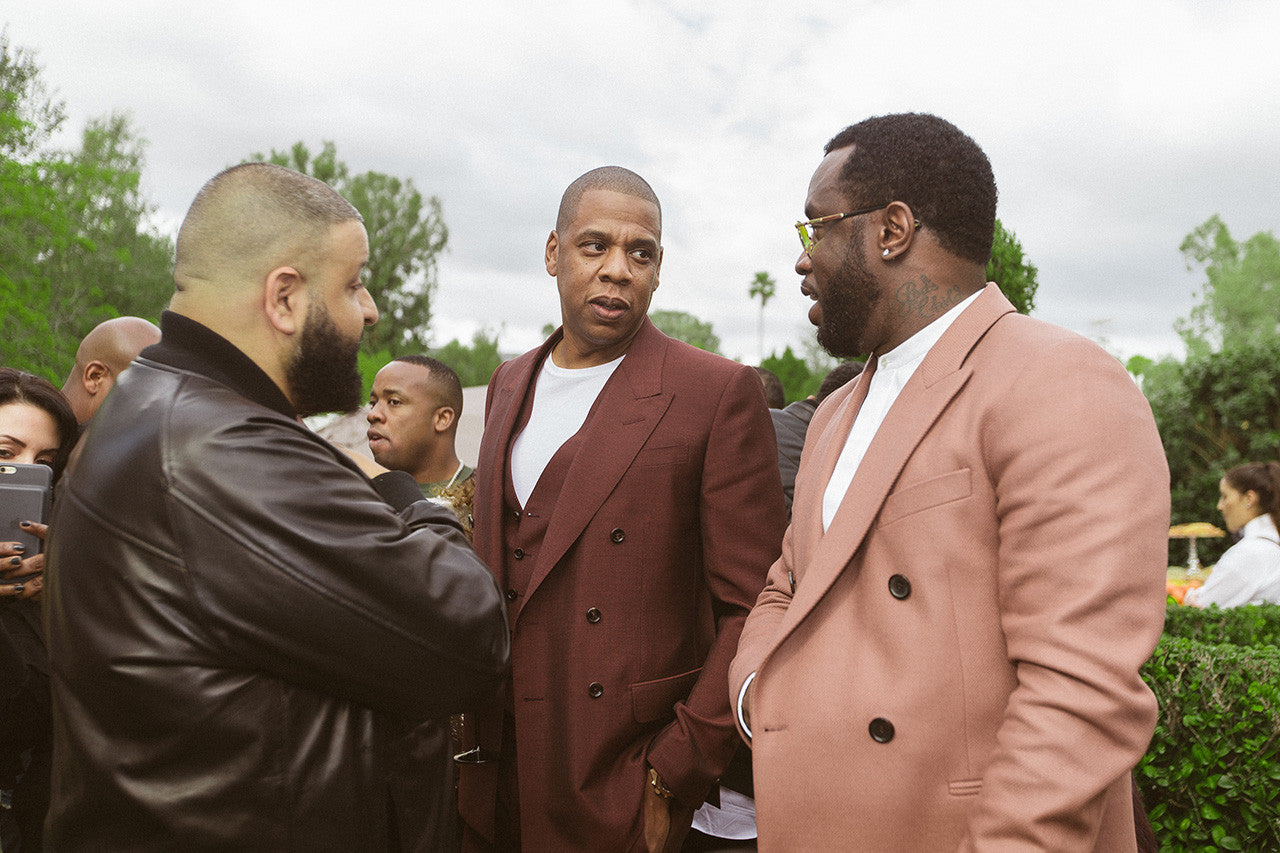 Diddy and JAY Z at Roc Nation's Grammy Brunch – DIDDY COM