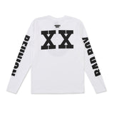 Bad Boy 20 Reunion Long Sleeve Tee (White)