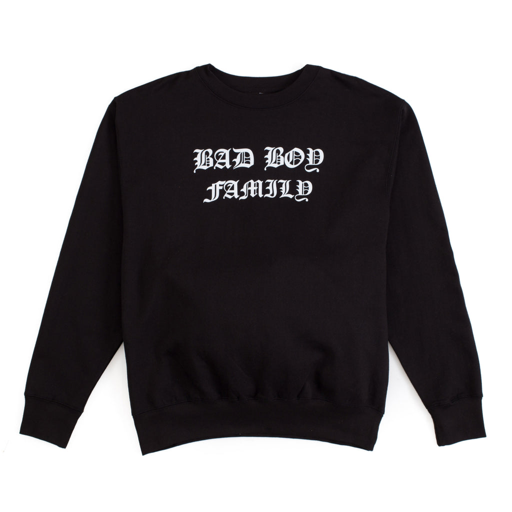 Bad Boy Family Old English Crewneck