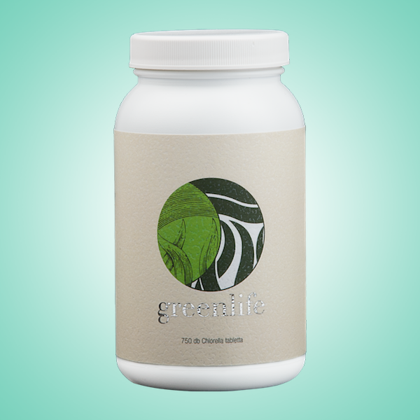 Green Life Chlorella Alga tabletta