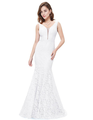 Honey Couture ABBEY White Lace Wedding Dress Size 8-26Honey CoutureAfterPay OxiPay ZipPay