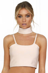 Honey Couture ELLIE Pink Crop Top & Bandage Pencil Skirt Set w Collar Australian Online Store Honey Couture AfterPay ZipPay