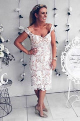 Honey Couture Nude w White Off Shoulder Lace Lover Dress Australian Online Store Honey Couture AfterPay ZipPay