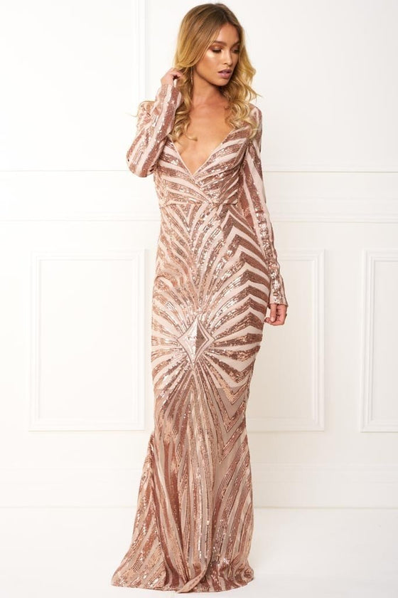 Sequin evening gown dresses