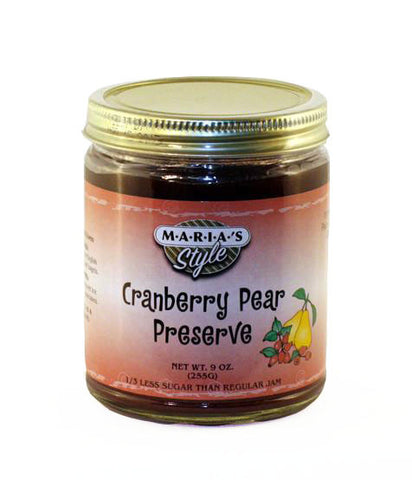 Cranberry Pear Preserve 9oz.