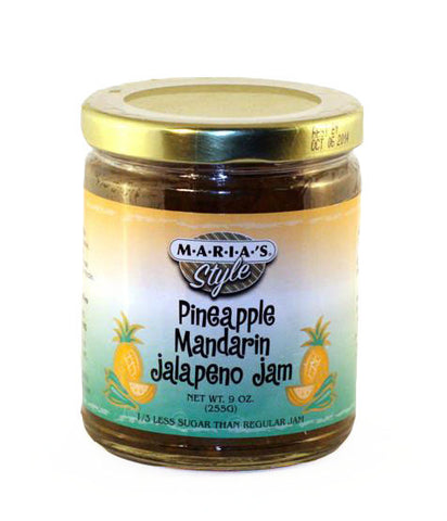 Tropical (Pineapple Mandarin) Jalapeno Jam 9oz.
