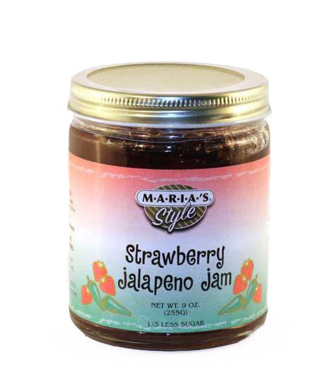 Strawberry Jalapeno Jam 9oz.
