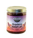 Strawberry Rhubarb Jam 9oz.