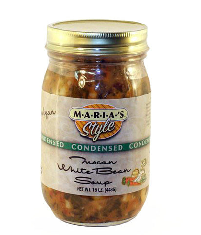 Condensed Tuscan White Bean Soup 16oz.