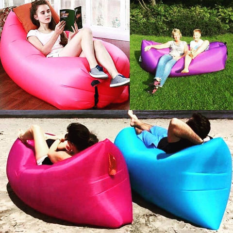 Portable Inflatable Air Bed Sofa - 1000Miles