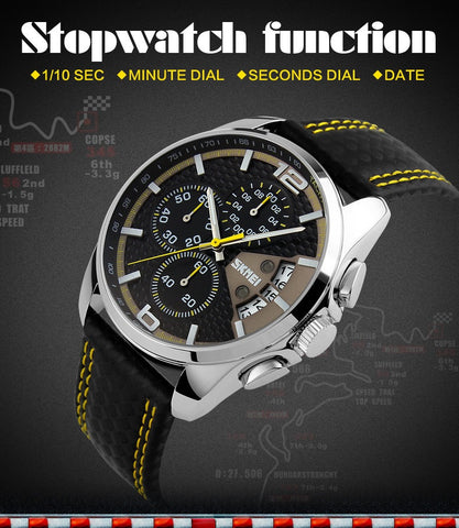 30M WATERPROOF BUSINESS SPORT WRISTWATCH - 1000Miles