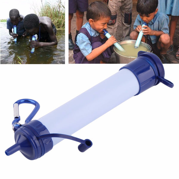 Travel Kit Drink Water Filter Purifier Personal Straw