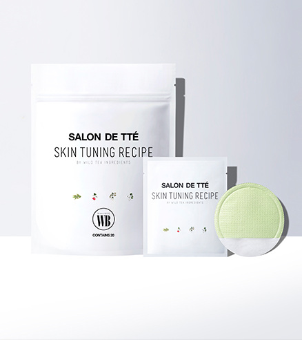 Wonder Bath Salon De Tte Exfoliating Mask Pads