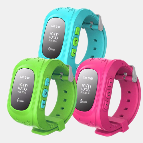 GPS Kid Tracker Smart Wristwatch - 1000Miles