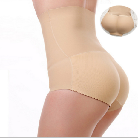 High Waist Butt Lifter Padded Panty
