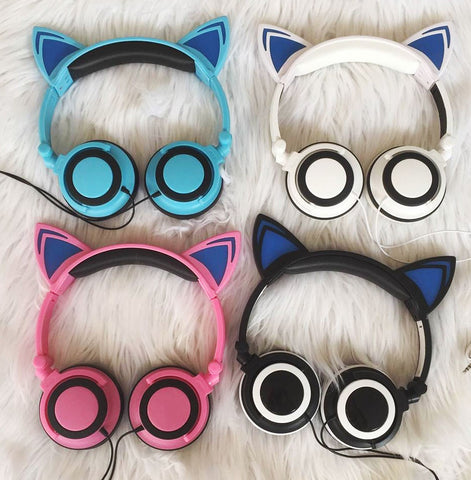 Gamer Cat Ear Headphones - 1000Miles