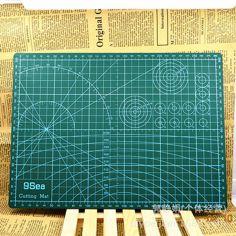 A3 Pvc Rectangle Grid Lines Self Healing Cutting Mat Tool