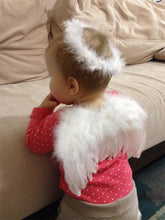 Newborn Baby Kids Angel Fairy Feather Wing