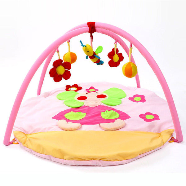 Pink Pincess Baby Play Gym  Blanket