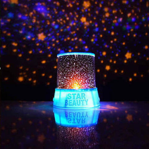 BLUE - AMAZING SKY STAR COSMOS LASER PROJECTOR LAMP - 1000Miles