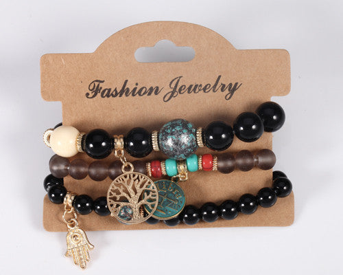 Bohemian Multilayer Beads Bracelet