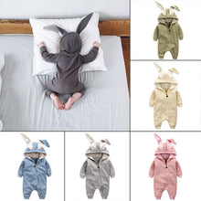 Cute Newborn Baby Rompers Jumpsuit Rabbit Clothing - 1000Miles