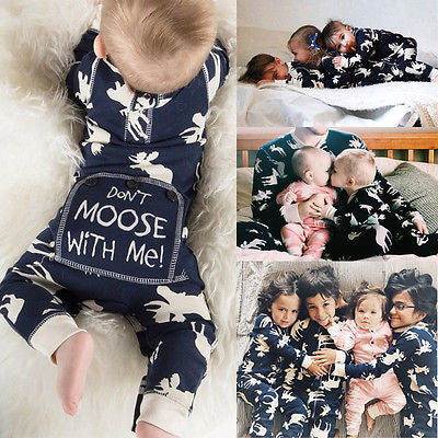 Don't Moose With Me Moose Romper