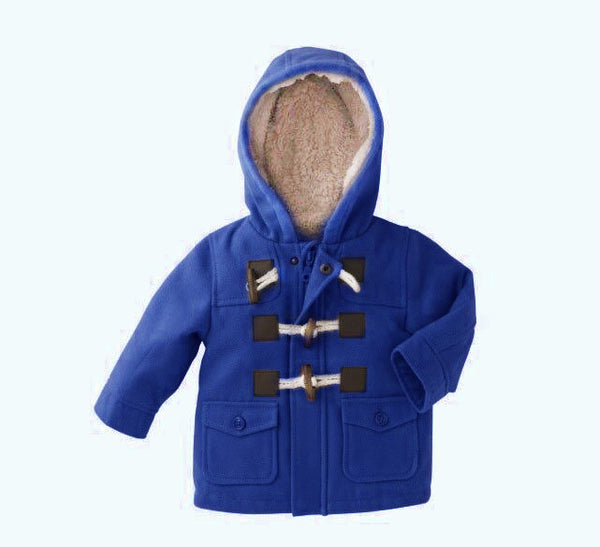 Baby Children Jacket Warm Hooded